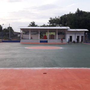 Pembangunan lapangan futsal